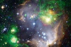 Galassia nello spazio cosmico, bellezza dell'universo fotografie stock
