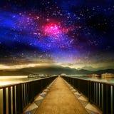 Galassia piacevole fotografie stock