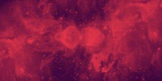 Galassia rossa illustrazione di stock