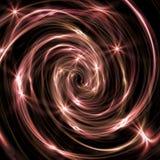 Galassia rossa Fotografia Stock Libera da Diritti