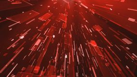Galassia rossa 2 della scatola illustrazione di stock