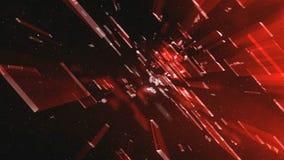 Galassia rossa 3 della scatola illustrazione vettoriale