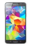 Galassia S5 di Samsung Fotografia Stock Libera da Diritti