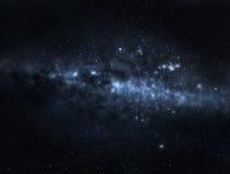 Galassia scura immagini stock