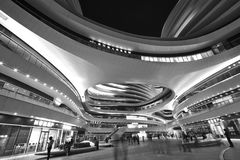 Galassia Soho, Pechino, Cina fotografia stock libera da diritti
