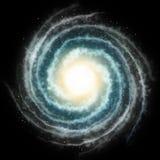 Galassia a spirale Fotografie Stock