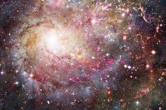 Galassia a spirale impressionante nello spazio cosmico Elementi di questa immagine ammobiliati dalla NASA immagine stock libera da diritti