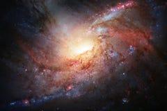 Galassia a spirale nello spazio cosmico Elementi di questa immagine ammobiliati dalla NASA illustrazione di stock