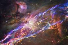 Galassia, starfield, nebulose, mazzo delle stelle nello spazio profondo Arte della fantascienza Elementi di questa immagine ammob fotografia stock libera da diritti