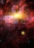 Galassia in uno spazio libero royalty illustrazione gratis