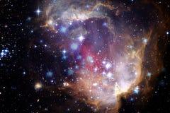 Galassia variopinta nello spazio cosmico Elementi di questa immagine ammobiliati dalla NASA royalty illustrazione gratis