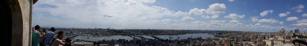 galata伊斯坦布尔塔 免版税库存图片