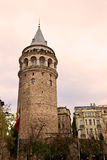 Galata塔,伊斯坦布尔,土耳其。 免版税库存图片