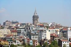 Galata塔,伊斯坦布尔 库存照片