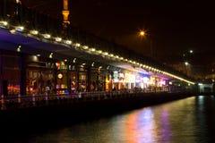 galata моста Стоковая Фотография