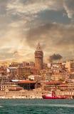 Башня Galata Стоковое Изображение RF