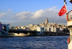 galata bridżowy wierza Zdjęcie Royalty Free