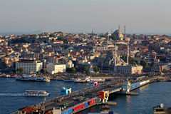 Galata bridge Stock Photo