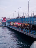 Galata Bridge Stock Image