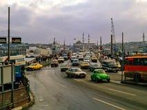 Galata Bridge, Istanbul Stock Image