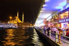 Galata Bridge Royalty Free Stock Photography
