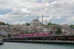 Galata Bridge, Istanbul Stock Images