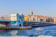 Galata Bridge Royalty Free Stock Photos