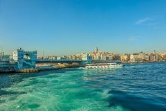 Galata Bridge Royalty Free Stock Image