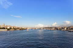 The Galata Bridge Royalty Free Stock Photo
