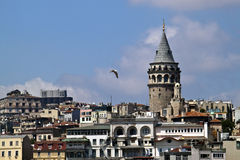 Galata district in Istanbul Stock Photography
