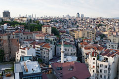 Galata district of Istanbul Royalty Free Stock Photos