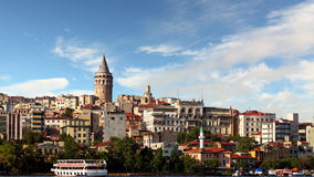Galata district - Istanbul Royalty Free Stock Photos