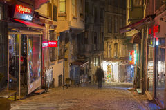 Galata District, Istanbul, Turkey Stock Images