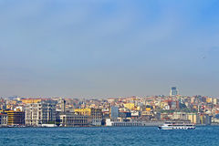 Galata district, Istanbul, Turkey Stock Photo