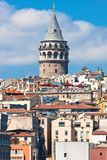 Galata district Stock Image