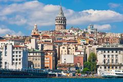 Galata district Royalty Free Stock Photography