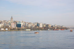 Galata and Golden Horn Royalty Free Stock Image