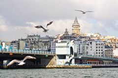 Galata, Istanbul royalty free stock photos