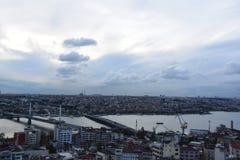 galata Istanbul basztowy indyk fotografia royalty free