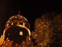 galata Istanbul basztowy indyk Zdjęcie Stock