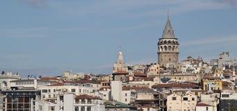 galata Istanbul basztowy indyk Zdjęcia Royalty Free
