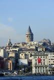 galata Istanbul basztowy indyk Obraz Stock