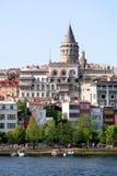 Galata, Istanbul - die Türkei lizenzfreie stockbilder