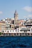 galata Istanbul wieży Fotografia Royalty Free