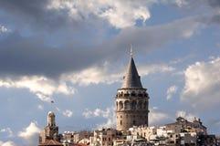 galata Istanbul wierza Obrazy Royalty Free
