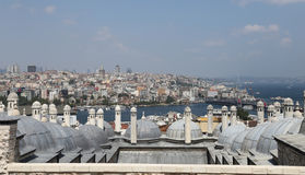 Galata and Karakoy district in Istanbul Stock Photography