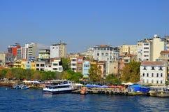 Galata Karakoy quarter Stock Images
