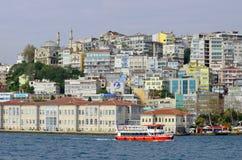 Galata Karakoy quarter of Istanbul Royalty Free Stock Photo