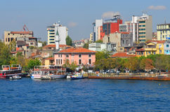 Galata Karakoy quarter of Istanbul Stock Photography
