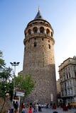 Galata Kontrollturm Stockfotografie